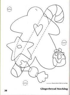 Arquivo dos álbuns - 201 The Night Before Christmas - Art to heart Christmas Applique, Christmas Sewing, Christmas Embroidery, Christmas Projects, Holiday Crafts, The Night Before Christmas, Christmas Makes, Felt Christmas, All Things Christmas