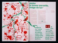 Commissioned by Jérôme Delormas, the new Lux director, art center in Valence, we map/design the 2007 season visual identity. First part of the season (january-july), first cartograph Map Design, Book Design, Layout Design, Print Design, Graphic Design Posters, Graphic Design Illustration, Woodworking Workshop Layout, Diy Woodworking, Design De Configuration