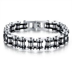 Bicycle Chain Bracelet [4 variations]