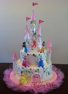castle cakes for girls birthday | Birthday Castle