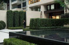 Chengdu Dowell · Yin Yangtze River by JTL Studio Commercial Landscaping, Chengdu, Plant Species, Plant Design, Landscape Architecture, Pond, Patio, River, Mansions
