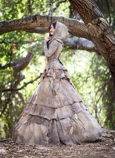 Steampunk Gowns - Gaia Gown Bra Sizes Bra Sizes, Bras, Nursing Bras, Push Up Bras Article Body: A br Moda Steampunk, Steampunk Fashion, Gothic Fashion, Steampunk Dress, Style Fashion, Steampunk Fairy, Steampunk Clothing, Steampunk Wedding Dress, Renaissance Clothing