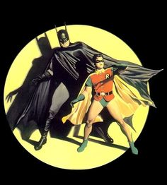 Classic Batman and Robin (art by Alex Ross)
