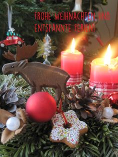 Frohe Weihnachten wünscht Dein Umwelt-Blog Grünes Element!