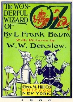 "THE WONDERFUL WIZARD OF OZ by L. Frank Baum. Partly because I adored Judy Garland in ""The Wizard of Oz"", I was mesmerized by the Oz books, a series of fantasy novels for children begun by L. Frank Baum and continued by Ruth Plumly Thompson and others. This is the book that started it all."