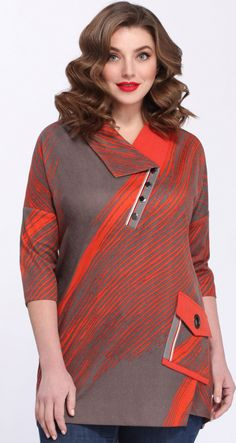 "c65082e45 Купить блузку Matini-41244 в интернет-магазине ""Анабель"". Adriana Agustine  · camisa cuello chino"
