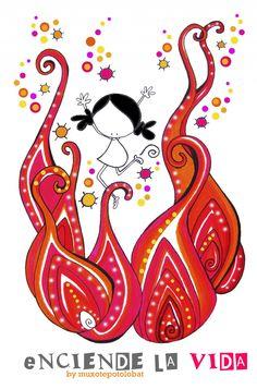 Encendiendo ando...te invito!! ;-)