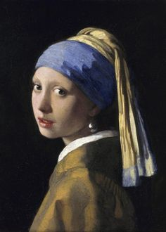 Puzzle Magnetische Teile - Vermeer Johannes: Das Mädchen mit dem Perlenohrring, 1665