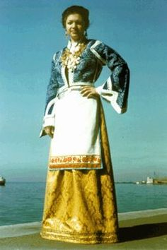 Women's Traditional Costume from Sfakia
