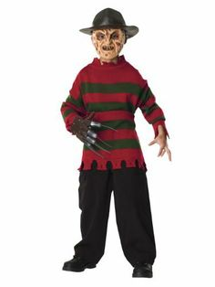 freddy krueger halloween costume nightmare on elm street - Freddy Krueger Halloween Decorations