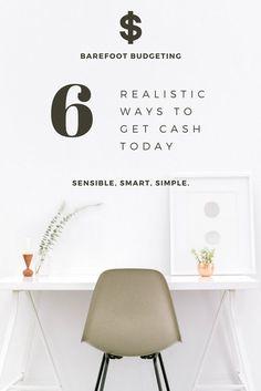 Sensible. Smart. Simple. 6 Ways to Earn Cash Today.