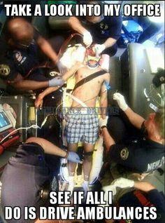 I'm an EMT-P