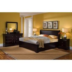 Pin by p a on bedroom furniture | Pinterest | King bedroom, Queen ...
