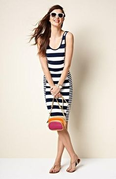 French Connection striped dress for Summer
