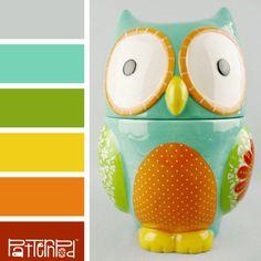 Owl'itude #patternpod #patternpodcolor #color #colorpalettes
