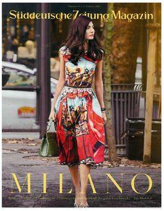 Oh, this dress. [Giovanna Battaglia - SZ MAGAZIN NO.8 FEBRUARY 2013 BY BEN MORRIS]