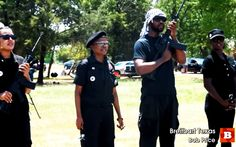 """THE COMING RACE WAR: Armed Black Panther members marched in front of the Waller County jail and shouted, """"You're gonna stop doing what you're doing, or we will start creeping up on you in the darkness."""" The statement was made just two weeks prior to the assassination of a Harris County deputy sheriff. http://www.nowtheendbegins.com/blog/?p=35179"""