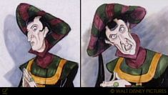 """Concept art of Frollo from Disney's """"The Hunchback of Notre Dame"""" (1996)."""