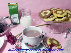 """""""Mil ideas mil proyectos"""": Galletas Bicolor con chocolate PAZO DE CORUXO / Bicolored Cookies made with PAZO DE CORUXO chocolate"""