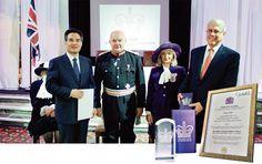 하나님의교회(안상홍증인회) 세계인에게 극찬받는 자원봉사활동_ 영국여왕상수상