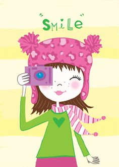 Memes Divertidos Buenos Dias Ideas For 2019 Cute Clipart, Cute Illustration, Happy Thoughts, Cute Art, Pink And Green, Whimsical, Art Prints, Memes, Children