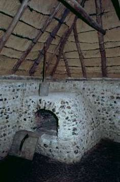 medieval oven in a cottage