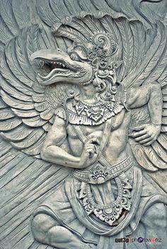 Garuda relief