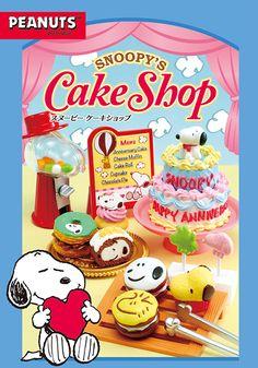 「SNOOPY'S Cake Shop」
