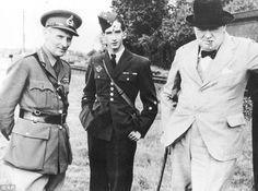 General Montgomery, with Yugoslavia's King Peter II and Sir Winston Churchill in 1941