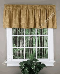 Angelica Sequin Valance – Gold