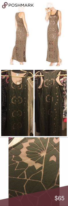 Brand new with tags Bar III maxi dress Look flawless all day long in this airy maxi dress. Crew neckline/ pullover style/ sleeveless/ slit at sides. Brand new and never worn. Bar III Dresses Maxi