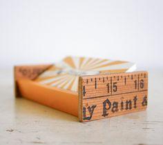 Desktop Business Card Holder - Upcycled Vintage Parts. Now I just need business cards! Business Card Holders, Business Cards, Craft Show Displays, Display Ideas, Craft Stalls, Crafts For Kids, Diy Crafts, Upcycled Vintage, Repurposed