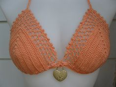 Size 12 Crochet Bikini Swimsuit Monokini/ Tankini/Top by Shorah, $79.00