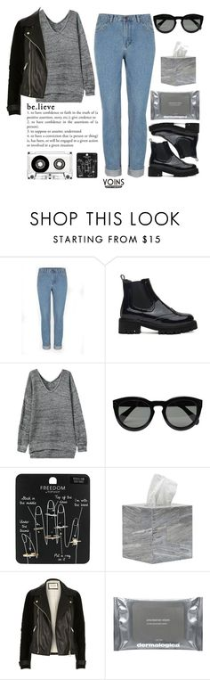 """#YOINS"" by credentovideos ❤ liked on Polyvore featuring CÉLINE, Topshop, Pigeon & Poodle, River Island, Dermalogica, women's clothing, women's fashion, women, female and woman"