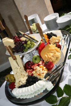 Fruit & Cheese Presentation