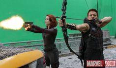 New haircut! and Hawkeye.