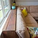 Sofa Table Made From Pallets