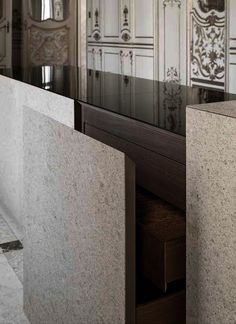 Pietra Design by Claudio Silvestrin for Minotti Cucine.