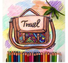 So beautiful bag with mandala