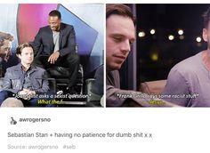 Sebastian Stan, everyone. #RomanianPrince