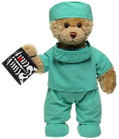 Surgeon Bear...  Haha I have have this bear from Build a Bear