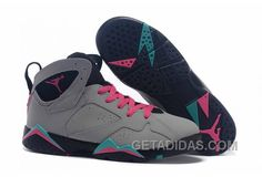 "quality design f58bb 31735 Girls Air Jordan 7 ""Miami Vice"" Custom Wolf Grey Pink Flash-Mint Green Super  Deals 8XHw42, Price   92.00 - Adidas Shoes,Adidas Nmd,Superstar,Originals"