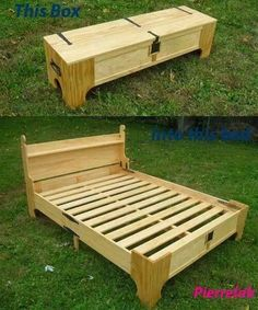 diy projects with pallets | Another pallet project