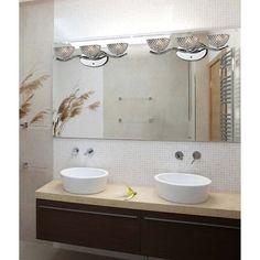 ELK Lighting 46158/3 Contour 3 Light Bathroom Light Polished Chrome