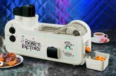 The Automatic Mini Donut Factory™ is a Revolutionary Donut Maker that Mixes, Shapes and Cooks Mini Donuts