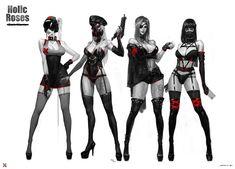 101 Cosplay and Art Female Character Design, Character Design Inspiration, Character Concept, Character Art, Cyberpunk Girl, Cyberpunk Character, Chica Fantasy, Fantasy Girl, Design Girl