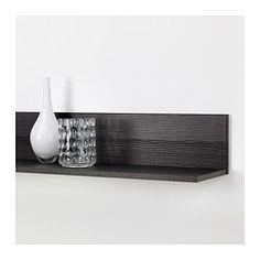 ORRBERG Mensola - marrone-nero - IKEA