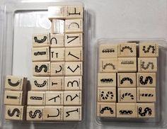 Stampin' Up! Alphabuilders Alphabet Rubber Stamps & Accessories #StampinUp #Background