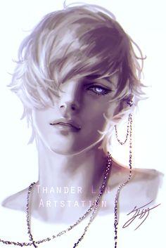Mikalo, Thander Lin on ArtStation at https://www.artstation.com/artwork/OxNzK