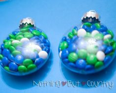 Earth Day Treat Ornaments. Directions available at nothingbutcountry.com. #EarthDay